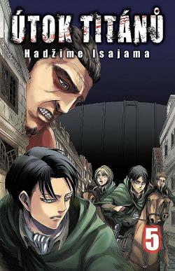 Útok titánů 5 obálka knihy