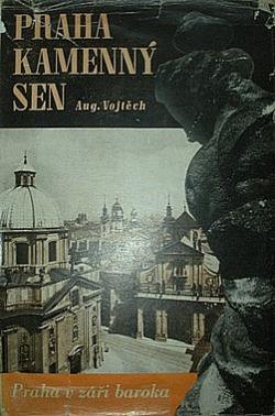 Praha kamenný sen obálka knihy