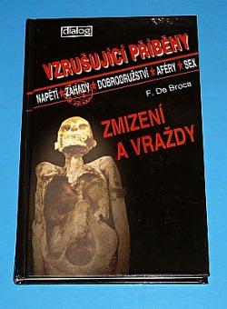Zmizení a vraždy obálka knihy