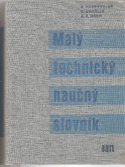 Malý technický naučný slovník obálka knihy