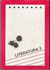 Dějiny literatury 3 obálka knihy