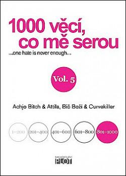 1000 věcí, co mě serou Vol. 5 obálka knihy