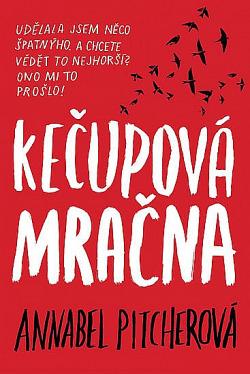 Kečupová mračna obálka knihy