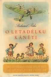 O letadélku Káněti obálka knihy