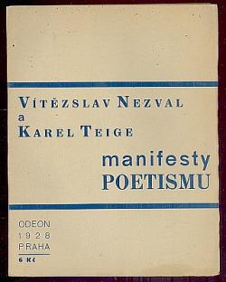 Manifesty poetismu obálka knihy