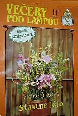 Šťastné léto obálka knihy