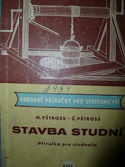 Stavba studní (příručka pro studnaře) obálka knihy