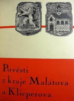 Pověsti z kraje Malátova a Klicperova obálka knihy