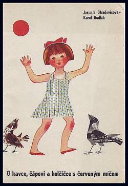 O kavce, čápovi a holčičce s červeným míčem obálka knihy