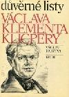 Důvěrné listy Václava Klimenta Klicpery
