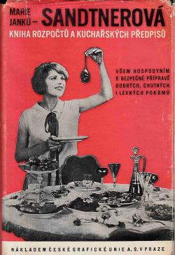 Kniha rozpočtů a kuchařských předpisů obálka knihy
