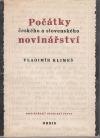 Počátky českého a slovenského novinářství