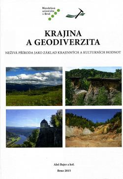 Krajina a geodiverzita obálka knihy