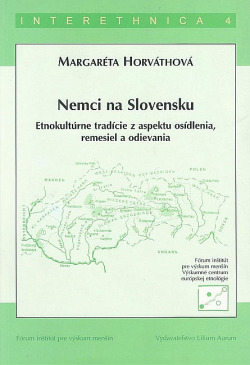 Nemci na Slovensku obálka knihy