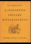 Z italského skicáře M. Švabinského