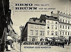Brno před 100 lety obálka knihy