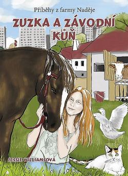Zuzka a závodní kůň obálka knihy