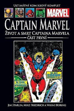Život a smrt Captaina Marvela - část první obálka knihy
