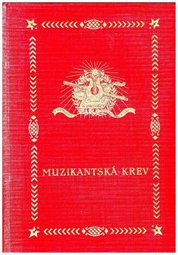 Muzikantská krev obálka knihy