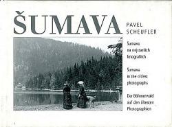 Šumava na nejstarších fotografiích obálka knihy