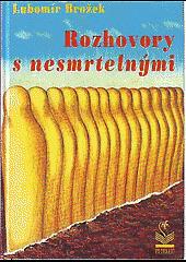 Rozhovory s nesmrtelnými obálka knihy