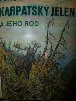 Karpatský jelen a jeho rod obálka knihy