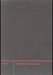 Pražská dramaturgie obálka knihy