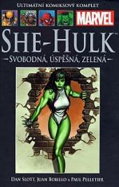 She-Hulk: Svobodná, úspěšná, zelená obálka knihy