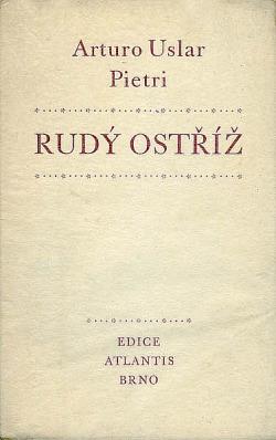 Rudý ostříž obálka knihy