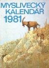 Myslivecký kalendář 1981