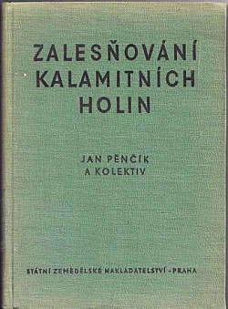 Zalesňování kalamitnich holin obálka knihy