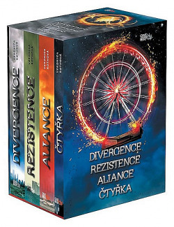 Divergence / Rezistence / Aliance / Čtyřka (box) obálka knihy