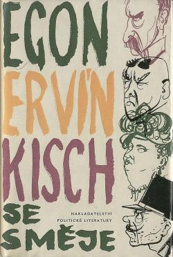 Egon Ervín Kisch se směje obálka knihy