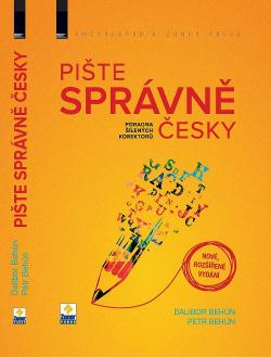 Pište správně česky – rozšířené vydání obálka knihy