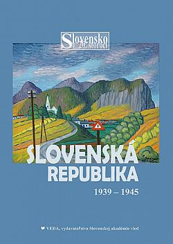 Slovenská republika 1939 - 1945 obálka knihy
