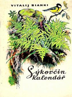 Sýkorčin kalendář obálka knihy