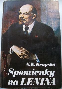 Spomienky na Lenina obálka knihy