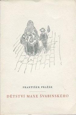 Dětství Maxe Švabinského obálka knihy