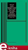 Projevy a jiné texty 1999–2006, Prosím stručně, Odcházení