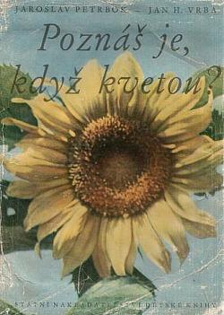 Poznáš je, když kvetou? obálka knihy