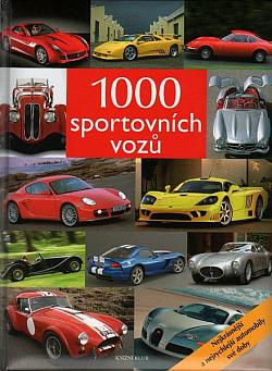 1000 sportovních vozů obálka knihy
