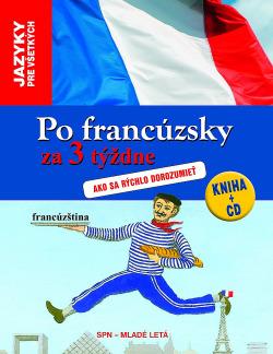 Po francúzsky za 3 týždne obálka knihy