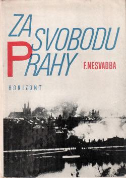 Za svobodu Prahy obálka knihy