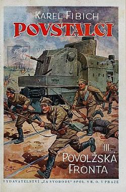 Povstalci III. - Povolžská fronta obálka knihy