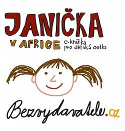 Janička v Africe obálka knihy