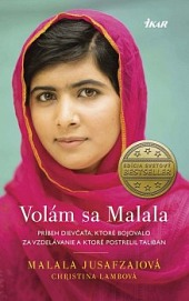 Volám sa Malala obálka knihy