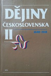 Dejiny Československa II. 1648-1918 obálka knihy