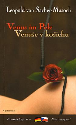 Venus im Pelz / Venuše v kožichu obálka knihy