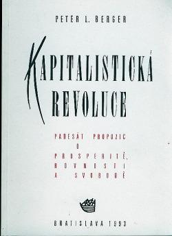 Kapitalistická revoluce obálka knihy