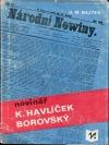 Novinář Karel Havlíček Borovský